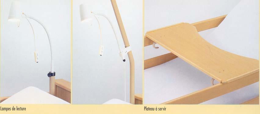 lampe de lecture avec adaptateur pour lit success et medic. Black Bedroom Furniture Sets. Home Design Ideas